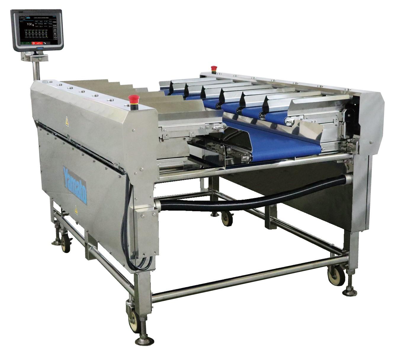 Tabletop semi-automatic dataweigher (TSDW)